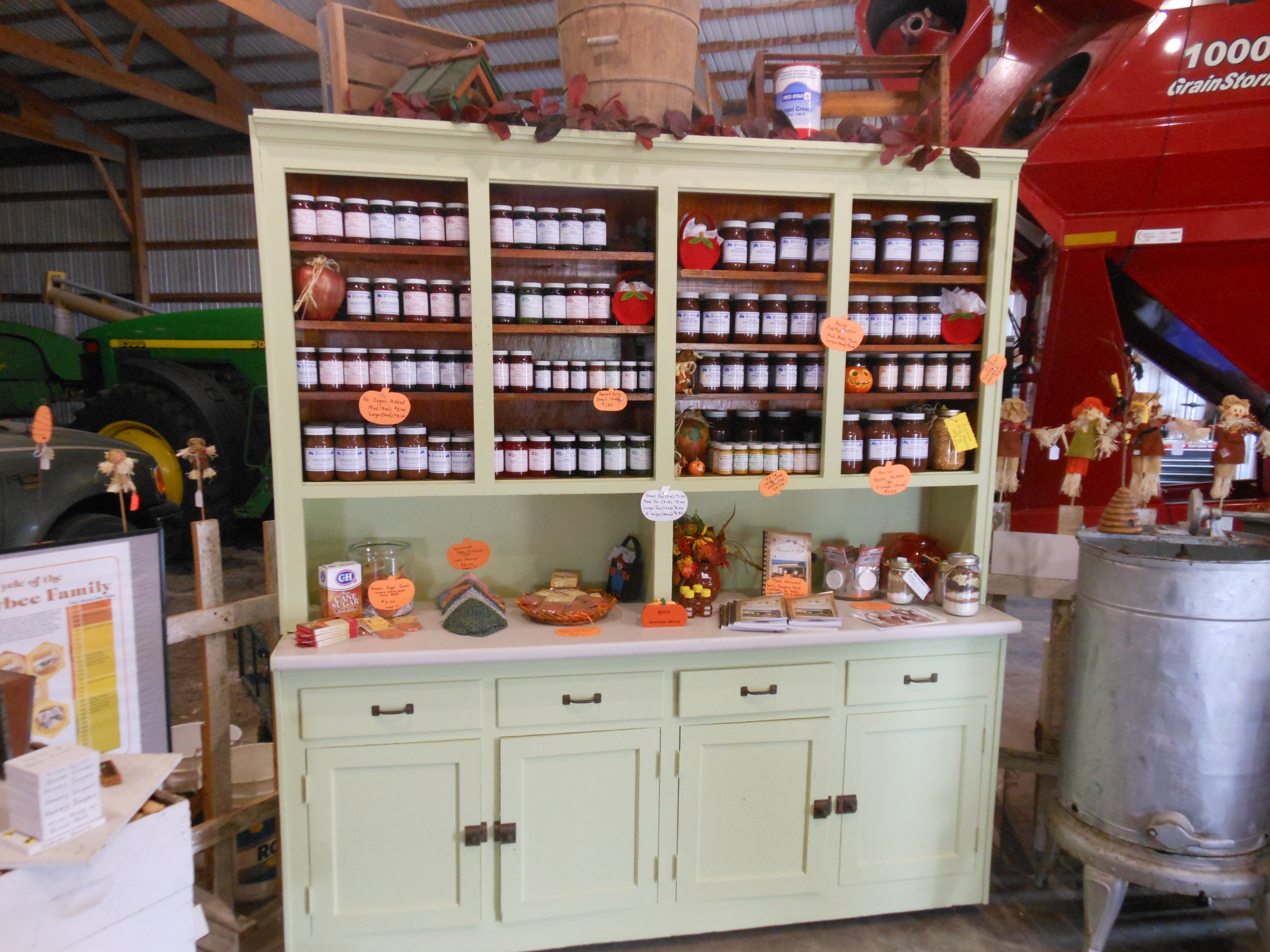 Honey Products Display